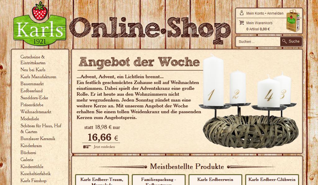 Karls-Shop Screenshot