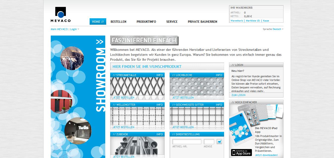 Streckmetalle und Lochbleche sind langweilig? Nicht in diesem Shop, Web: http://www.mevaco.de