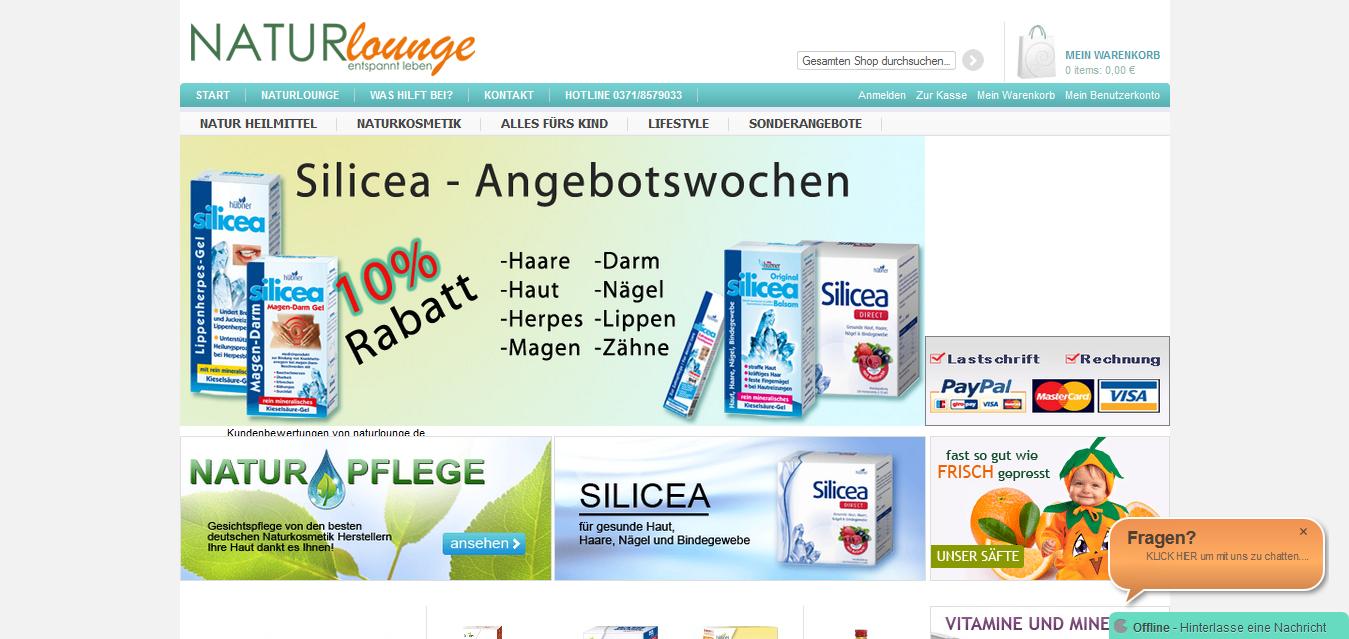 Hier bekommt man Naturhjeilmittel, Naturkosmetik und alles fürs Kind, Web: http://www.naturlounge.de