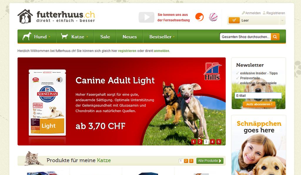 Futterhuus Screenshot