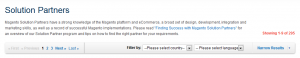 Magento Solution Partner Screenshot