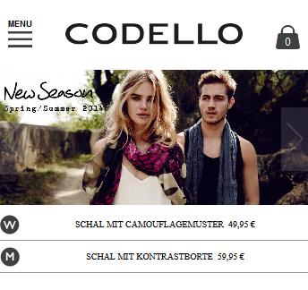 Bester Mobile Shop: Codello